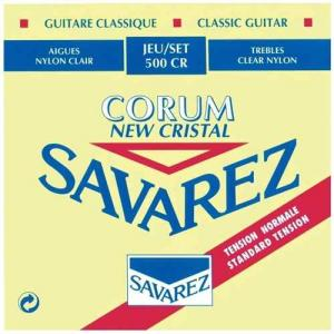 Strings for Classical Guitar Savarez Corum New Cristal 500  CR Standard Tension