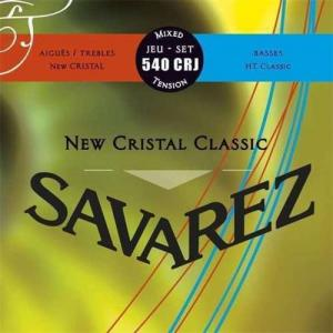 Strings for Classical Guitar Savarez Corum New Cristal Classic 540 CRJ Mixed Tension