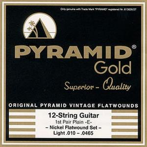 Strings for Electric Guitar Pyramid Gold 12-string set