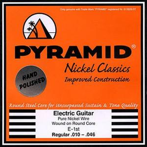 [ru]Струны для электрогитары[/ru][en]Strings for Electric Guitar[/en][de]Saiten für E-Gitarre[/de] Pyramid Nickel Classics Studio Masters