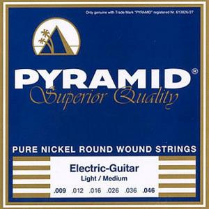 Strings for Electric Guitar Pyramid Pure-Nickel Round Wound