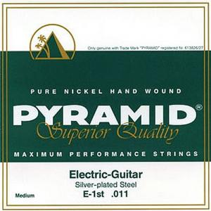 Strings for Electric Guitar Pyramid Pure Nickel Maximum Performance