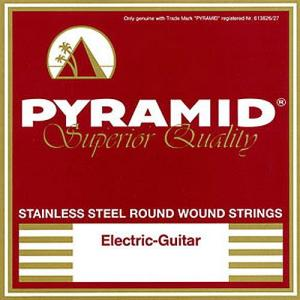 Strings for Electric Guitar Pyramid Stainless Steel Drop D Tuning