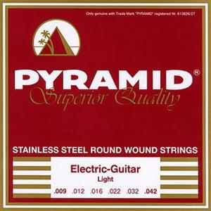 [ru]Струны для электрогитары[/ru][en]Strings for Electric Guitar[/en][de]Saiten für E-Gitarre[/de] Pyramid Stainless Steel Round Wound