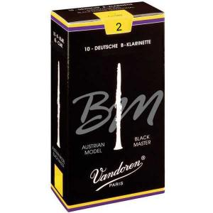 Vandoren Black Master CR182 Reeds for Austrian Bb clarinet - 2