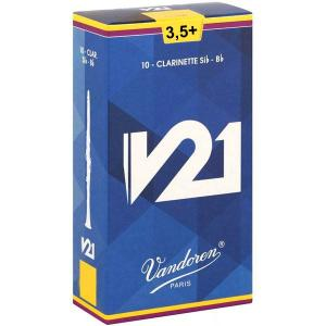 Vandoren V21 CR8035+ Reeds for clarinet Bb - 3,5+
