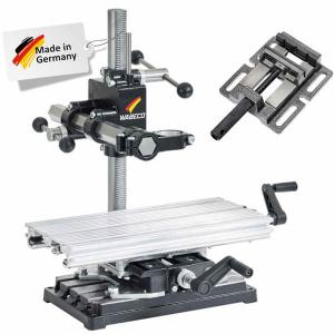 Wabeco B1240 set drilling milling stand with table фтв machine vice