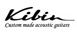 Custom made acoustic Kibin guitars