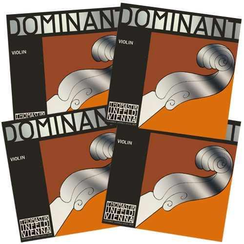 Geige Saiten String Set THOMASTIK Dominant Violinsaiten Satz 1//2 1//4 1//8